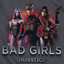 Injustice Gods Among Us Bad Girls Shirts