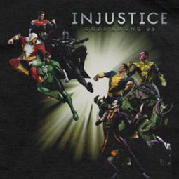 Injustice Gods Among Us Good VS Evil Shirts