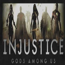 Injustice Gods Among Us Logo Shirts