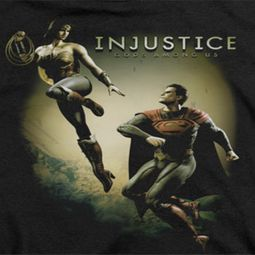 Injustice Gods Among Us Wonderwoman VS Superman Shirts