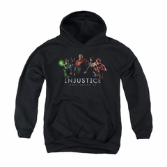 Injustice Gods Among Us Youth Hoodie League Black Kids Hoody