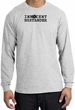 INNOCENT BYSTANDER BLACK Funny Adult Long Sleeve T-Shirt - Ash