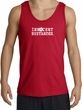 INNOCENT BYSTANDER WHITE Funny Adult Tanktop - Red