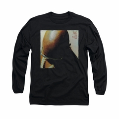 Isaac Hayes Shirt Buttered Soul Long Sleeve Black Tee T-Shirt