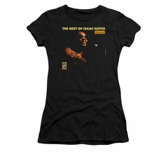 Isaac Hayes Shirt Juniors Best Of Black T-Shirt