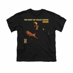 Isaac Hayes Shirt Kids Best Of Black T-Shirt