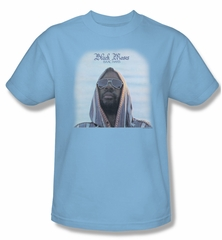 Issac Hayes Shirt Concord Music Black Moses Adult Blue Tee T-Shirt