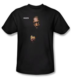 Issac Hayes Shirt Concord Music Chocolate Chip Adult Black Tee T-Shirt