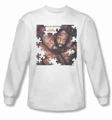 Issac Hayes Shirt Concord Music To Be Continued White Long Sleeve Tee