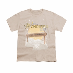 It's A Wonderful Life Shirt Kids Wonderful Story Cream Youth Tee T-Shirt