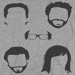 It's Always Sunny In Philadelphia Casted Shadows Shirts