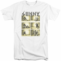 It's Always Sunny In Philadelphia Shirt Rock Photos White Tall T-Shirt