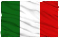 "Italy Flag Fleece Blanket - 36"" X 58"""