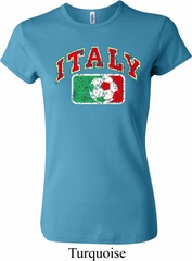 Italy Ladies Crewneck Shirt