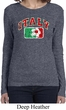 Italy Ladies Long Sleeve Shirt