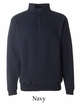 J America Sweatshirt 1/4 Zip Heavyweight Fleece Sweat Shirt