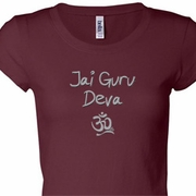 Jai Guru Deva Ladies Yoga Shirts
