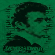 James Dean Against The Wall Shirts