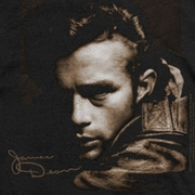 James Dean Brown Leather Shirts