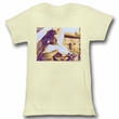 James Dean Juniors Shirt Dean Dirty White Tee T-Shirt