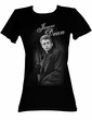 James Dean Juniors T-shirt Dean Leaning Black Tee Shirt