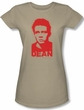 James Dean Juniors T-shirt Graffiti Stencil Sand Tee Shirt