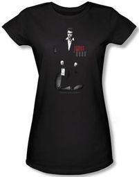 James Dean Juniors T-shirt Love Letters Black Tee Shirt