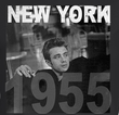 James Dean Juniors T-shirt New York 55 Coal Tee Shirt