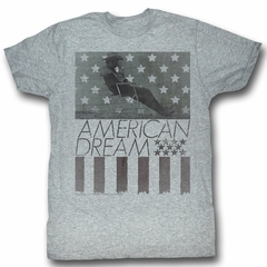 James Dean Shirt American Dream Adult Heather Grey Tee T-Shirt