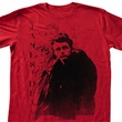 James Dean Shirt College Dean Adult Red Tee T-Shirt