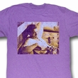 James Dean Shirt Dean Adult Heather Purple Tee T-Shirt