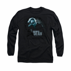James Dean Shirt Sunglasses At Night Long Sleeve Black Tee T-Shirt