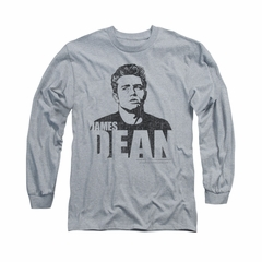 James Dean Shirt The Dean Long Sleeve Athletic Heather Tee T-Shirt