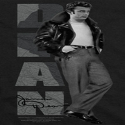 James Dean Standing Leather Shirts