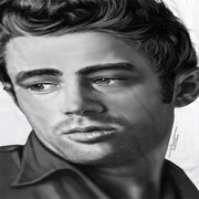 James Dean Stare Sublimation Shirts