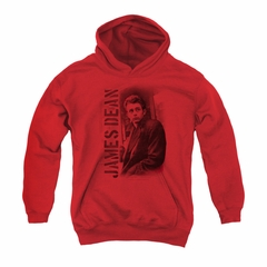 James Dean Youth Hoodie Trenchcoat Red Kids Hoody