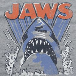Jaws Comic Splash Shirts