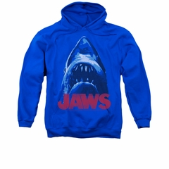 Jaws Hoodie From Below Royal Blue Sweatshirt Hoody