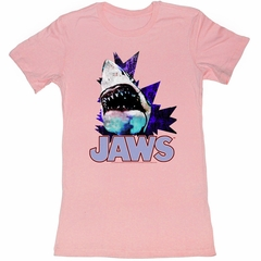 Jaws Juniors Shirt Electric Jaws Pink Tee T-Shirt