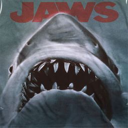 Jaws Poster Sublimation Shirts
