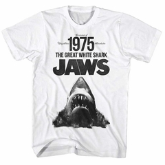 Jaws Shirt 1975 White T-Shirt