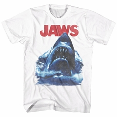 Jaws Shirt Bad Waves White T-Shirt