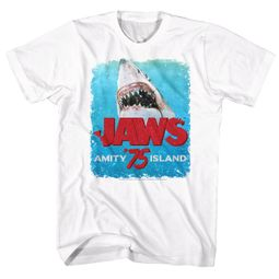 Jaws Shirt Bite White T-Shirt