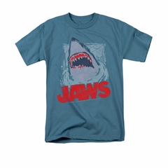 Jaws Shirt From The Depths Slate T-Shirt