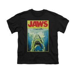 Jaws Shirt Kids Bright Black T-Shirt