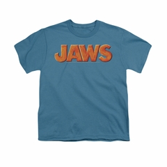 Jaws Shirt Kids Name Slate T-Shirt