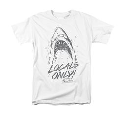 Jaws Shirt Locals Only White T-Shirt