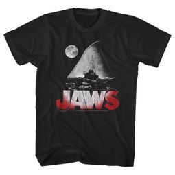 Jaws Shirt Night Black T-Shirt