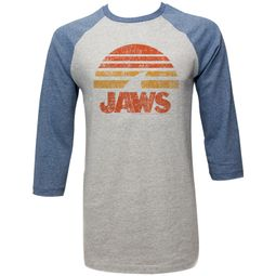 Jaws Shirt Raglan Sunset Grey/Navy Shirt