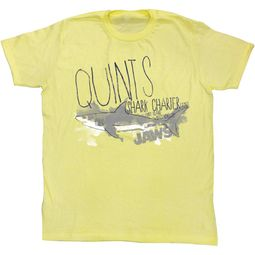 Jaws Shirt Shark Charter Light Yellow T-Shirt